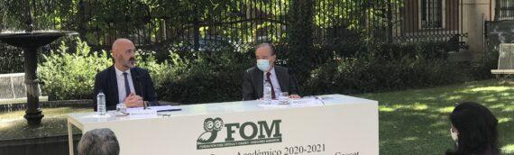 El rector de la Universidad Complutense de Madrid preside el acto de apertura del curso académico del IUIOG