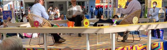 La Influencia de Ortega y Gasset en el Pensamiento Colombiano en el Siglo XX con el escritor colombiano Juan Esteban Constaín y el autor de una biografía de José Ortega y Gasset Jordi Gracia